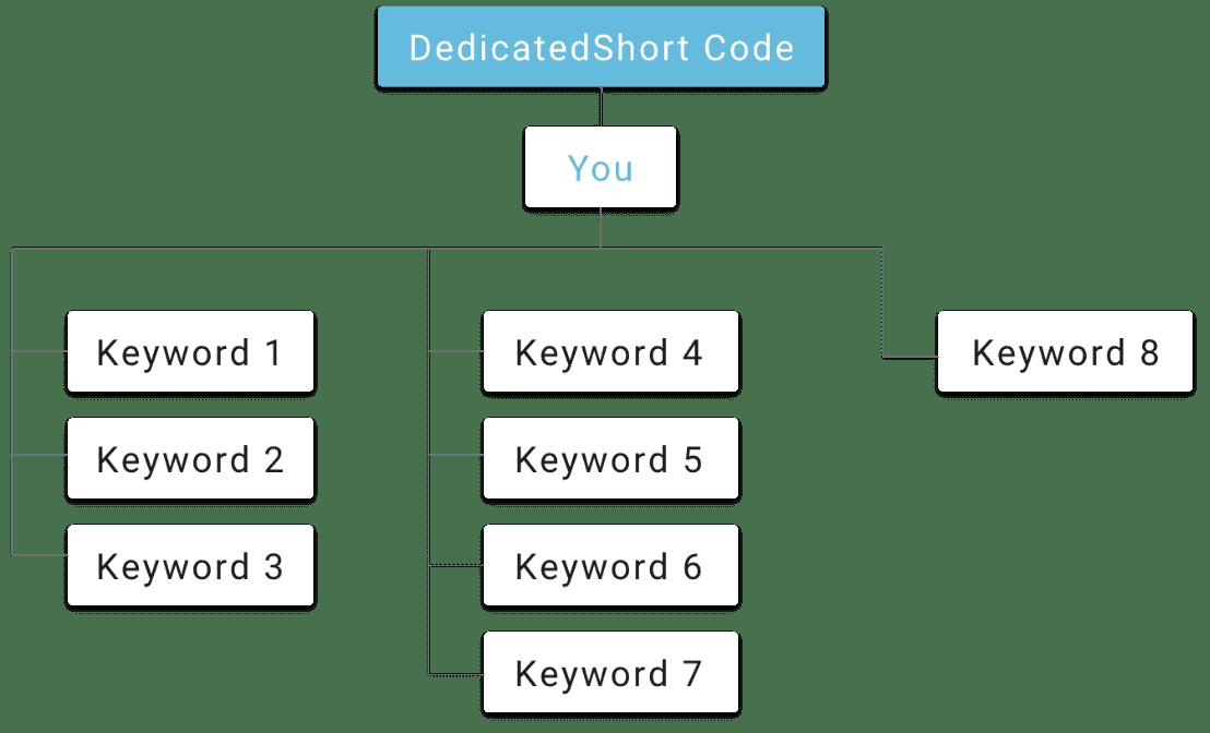 Dedicated short code how it works v4